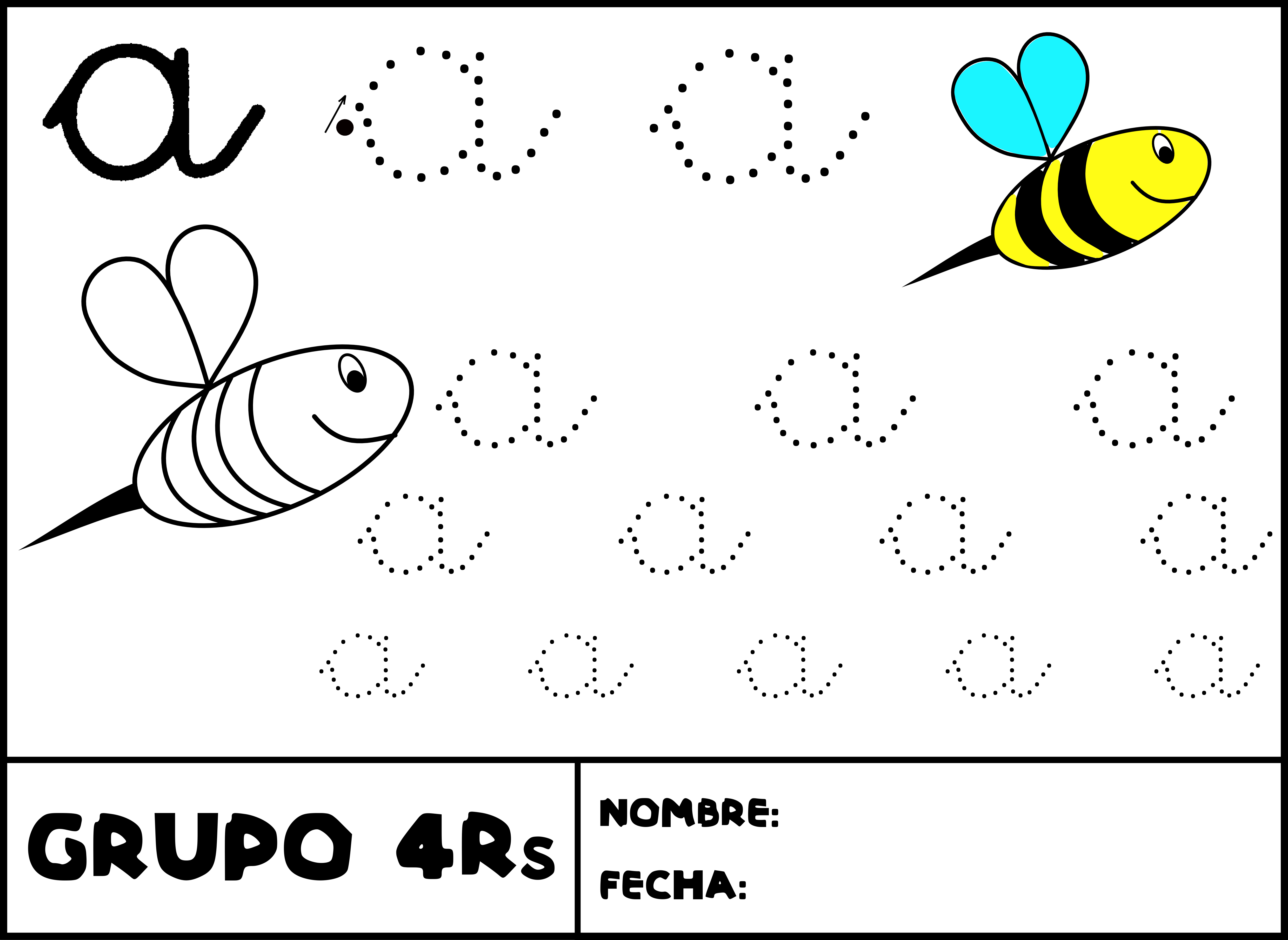 aprender a escribir Colouring Pages (page 3)